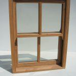 new timber sash window