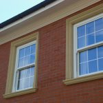 two new sash windows in new house