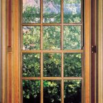 full oak sash window