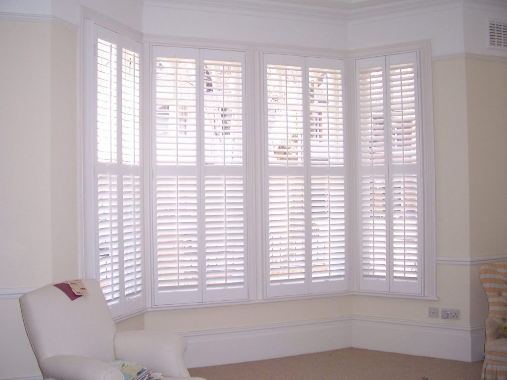 Wooden Timber Plantation Window Shutters In Essex By Sms