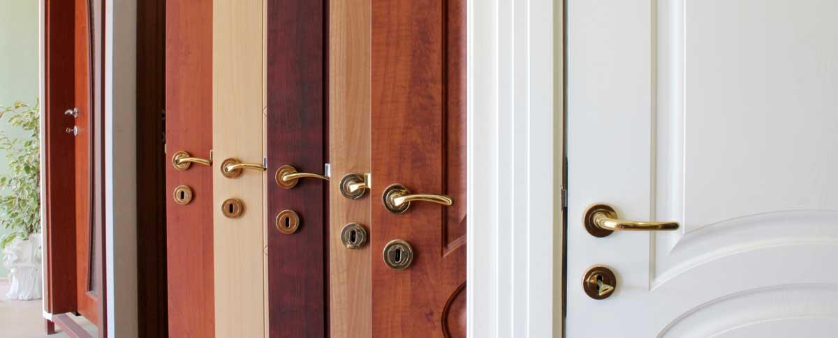 a range of doors