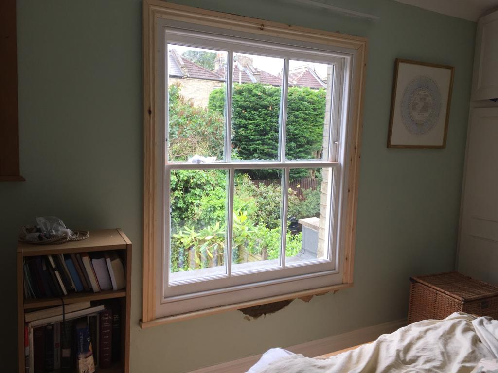 Finchley sash window