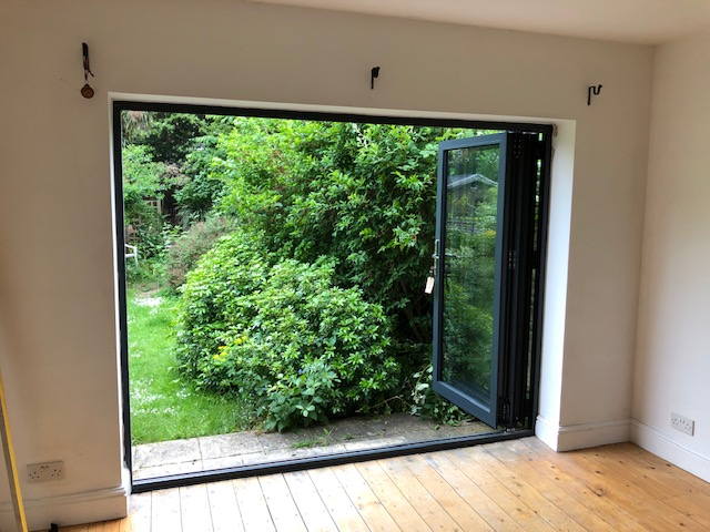 Peckham Bifold Timber Doors after
