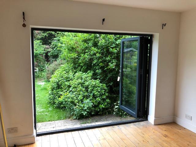 Peckham Bifold Timber Doors after